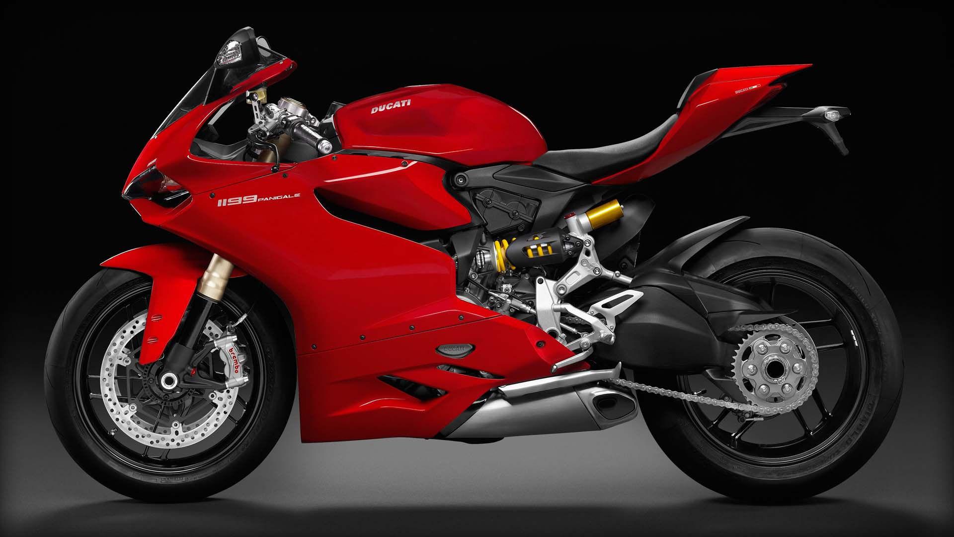 2014 Ducati 1199 PANIGALE | Ducati 1199 Panigale - Side Profile