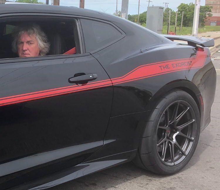 "2018 Chevrolet Camaro   Hennessey ""Exorcist"" ZL1 Camaro on Forgeline One Piece Forged Monoblock GS1R Wheels"