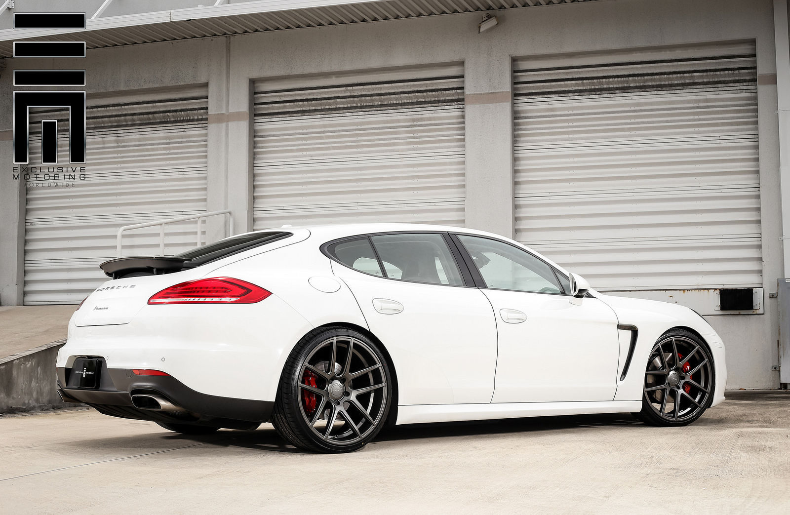 2015 Porsche Panamera   Porsche Panamera on Velgen Wheels VMB5
