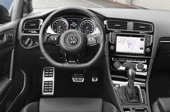 The '15 VW Golf R - Interior
