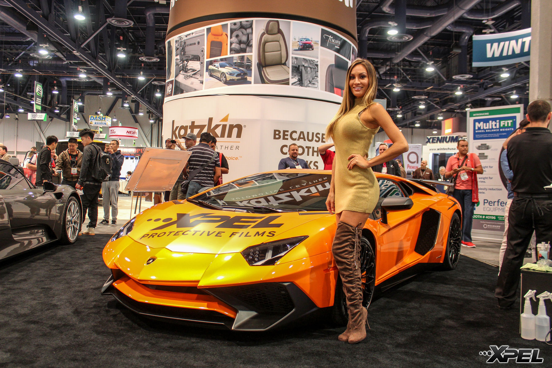 | Shots of the XPEL Booth at SEMA 2015