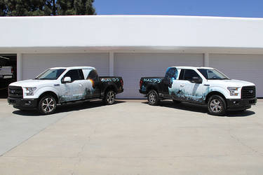 2015 Ford F-150 | F-150 Halo 5, Guardians Promotional Vehicle