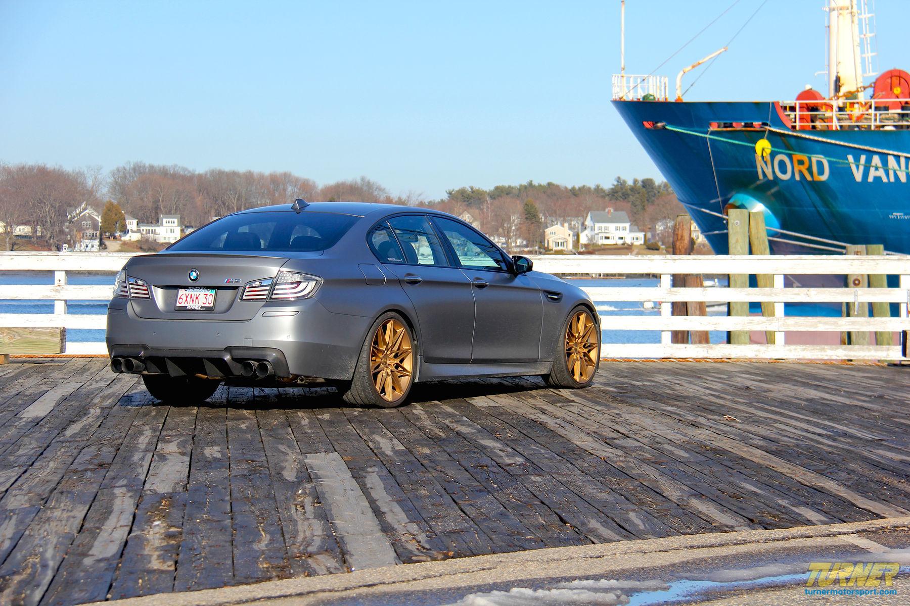 2015 BMW M5 | Turner Motorsport's Frozen Gray BMW F10 M5 on Forgeline One Piece Forged Monoblock MT1 Wheels