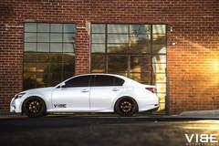 Lexus GS350 on Gianelle Wheels - Side Profile Shot