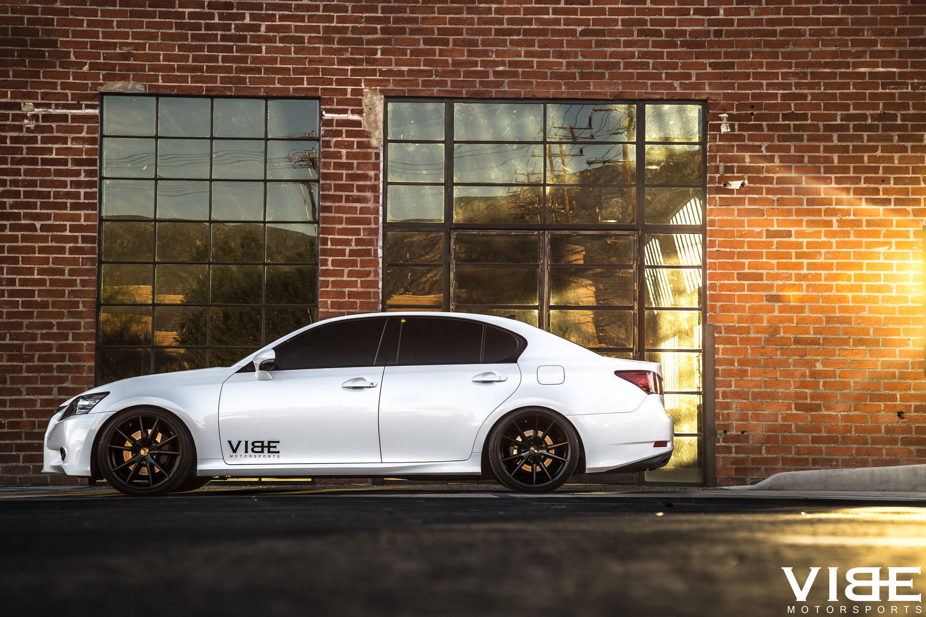 2014 Lexus GS 350 | Lexus GS350 on Gianelle Wheels - Side Profile Shot