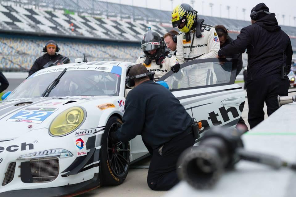 2015 Porsche 911 | WeatherTech Alex Job Racing #22 GTD Porsche on Forgeline One Piece Forged Monoblock GTD1 Racing Wheels