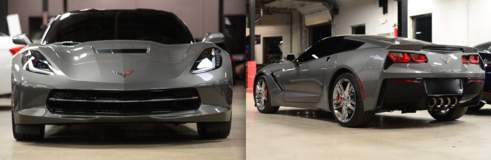 Another Z06 in the Eurotech Motorsports shop ready for XPEL ULTIMATE