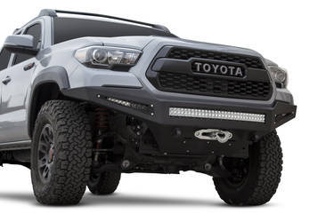 2016-Up Toyota Tacoma HoneyBadger Winch Front Bumper