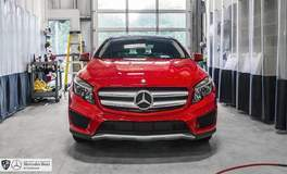 Mercedes-Benz GLA250 with XPEL ULTIMATE protection