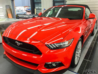 2016 Ford Mustang   Recent installations from XPEL United Kingdom