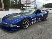 Danny Popp's Corvette on Forgeline GS1R Wheels