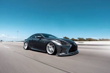 2016 Lexus RC 350 | Bagged Lexus RC350 F-Sport on Classic5 Matte Silver