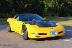 Jerry D's Supercharged C5 Corvette by Zip Corvette Parts on Forgeline One Piece Forged Monoblock AR1 Wheels