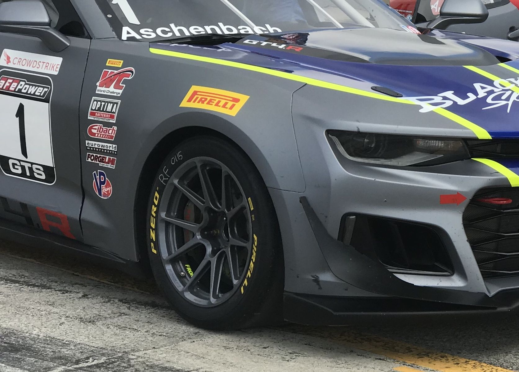 2018 Chevrolet Camaro | Aschenbach Dominates Pirelli World Challenge GTS at Canadian Tire Motorsports Park on Forgeline One Piece Forged Monoblock GS1R Wheels!