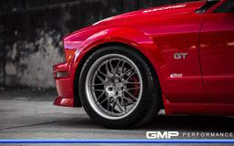 Supercharged S197 Ford Mustang GT on Forgeline GX3 Wheels