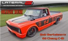 """Orange Rush"" '69 C-10 on Forgeline CF3C Wheels"