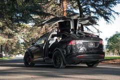 """Tesla Model X P100D on 22"""" Avant Garde M615 Wheels - Vibe Motorsports"""