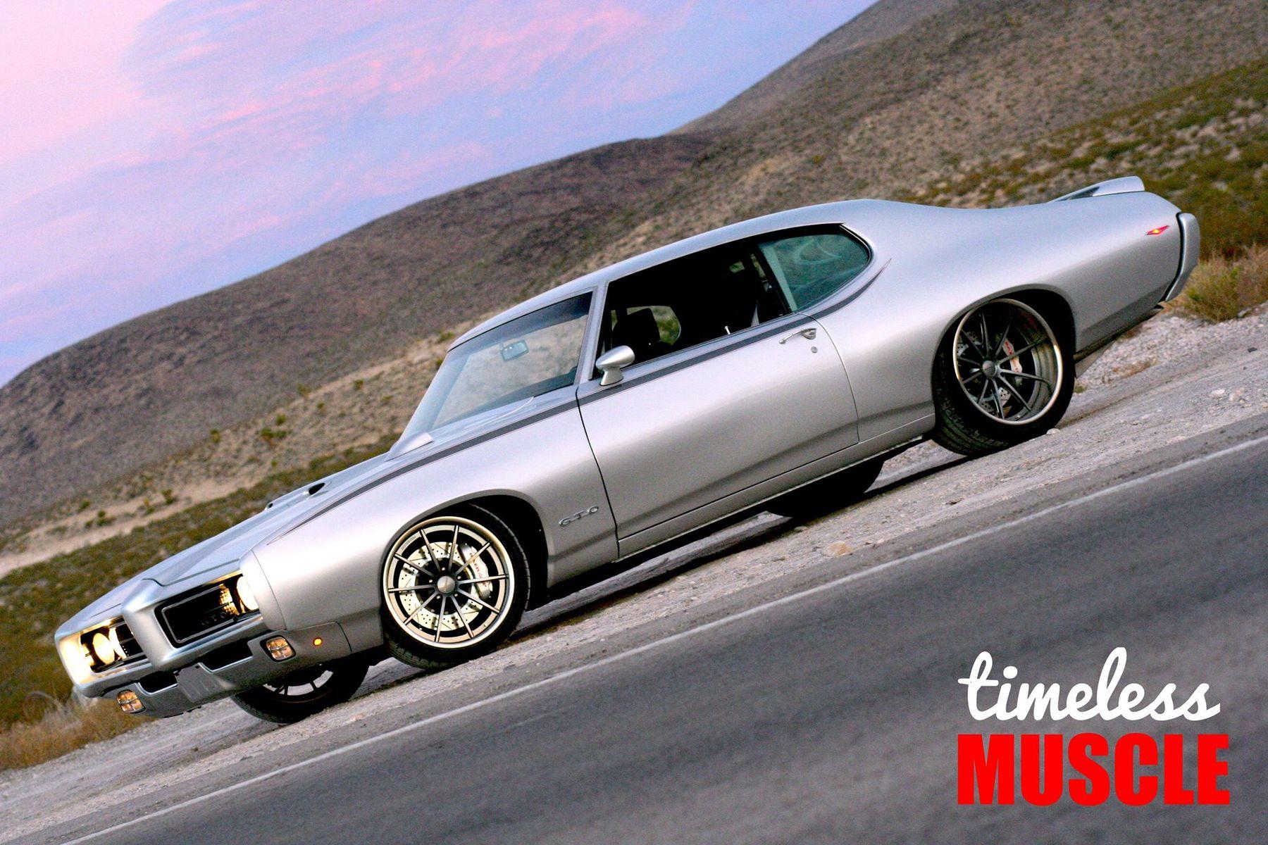 1969 Pontiac GTO   Tony Madonia's 860HP Speedtech Performance '69 Pontiac GTO on Forgeline GT3C Wheels