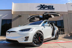 Tesla Model X Fully wrapped with XPEL