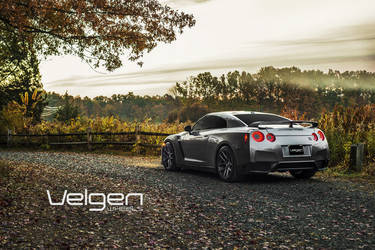 Nissan GT-R on Velgen Wheels  VMB5