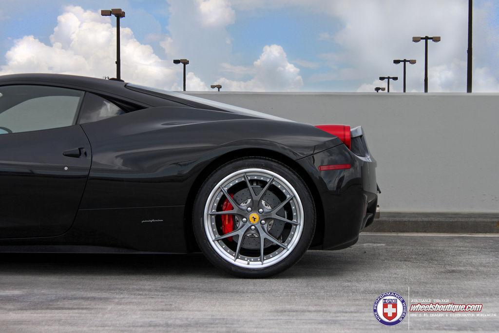 Ferrari 458 Italia | Ferrari 458 on HRE S101