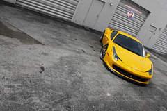 Ferrari 458 on HRE S104