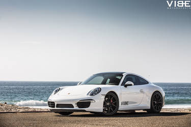 "2014 Porsche 911 | Porsche 911 Carrera on 20"" XO Verona Matte Black Wheels - Beach Cruising"