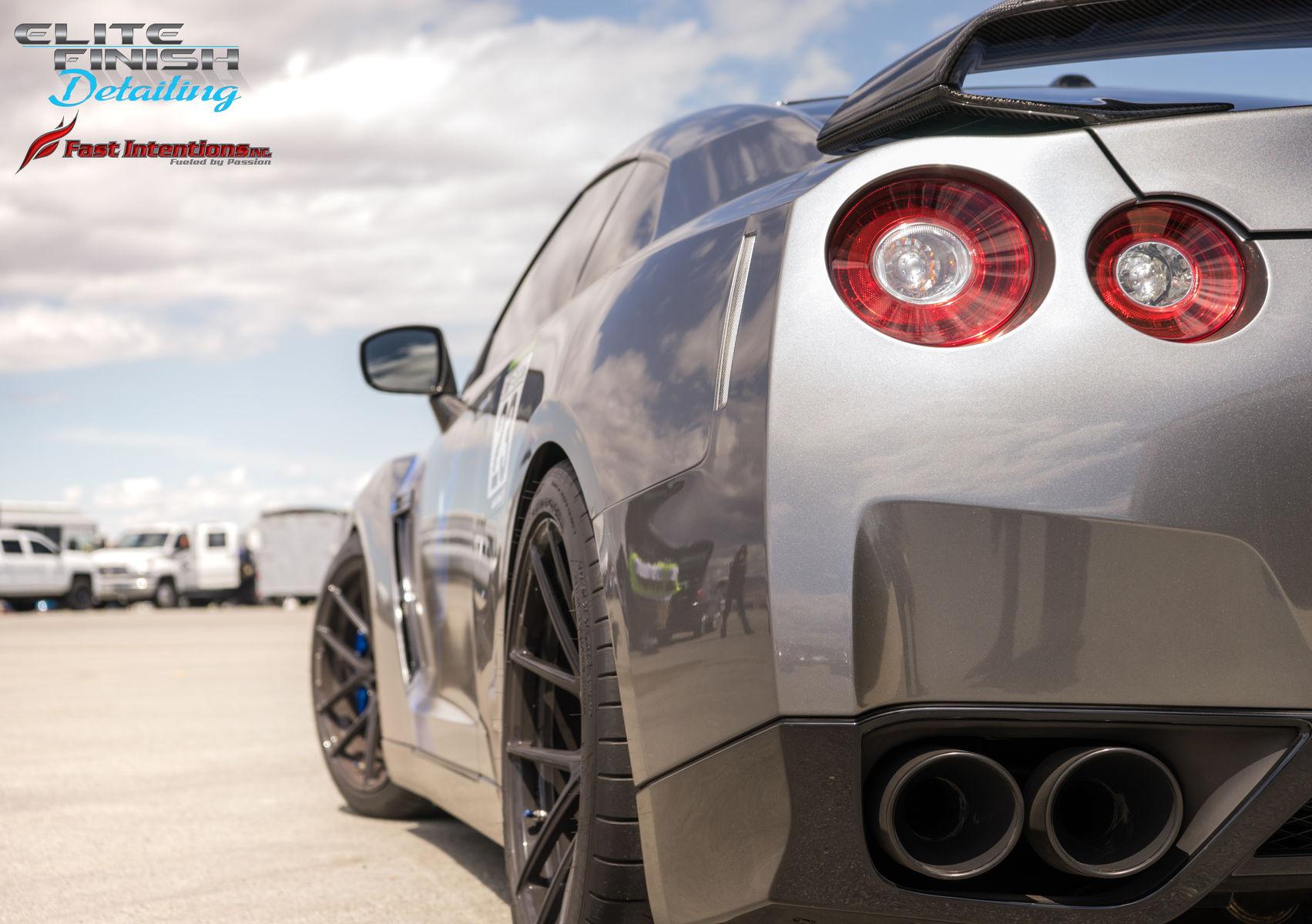 Nissan GT-R   Shift S3ctor California Airstrip Attack