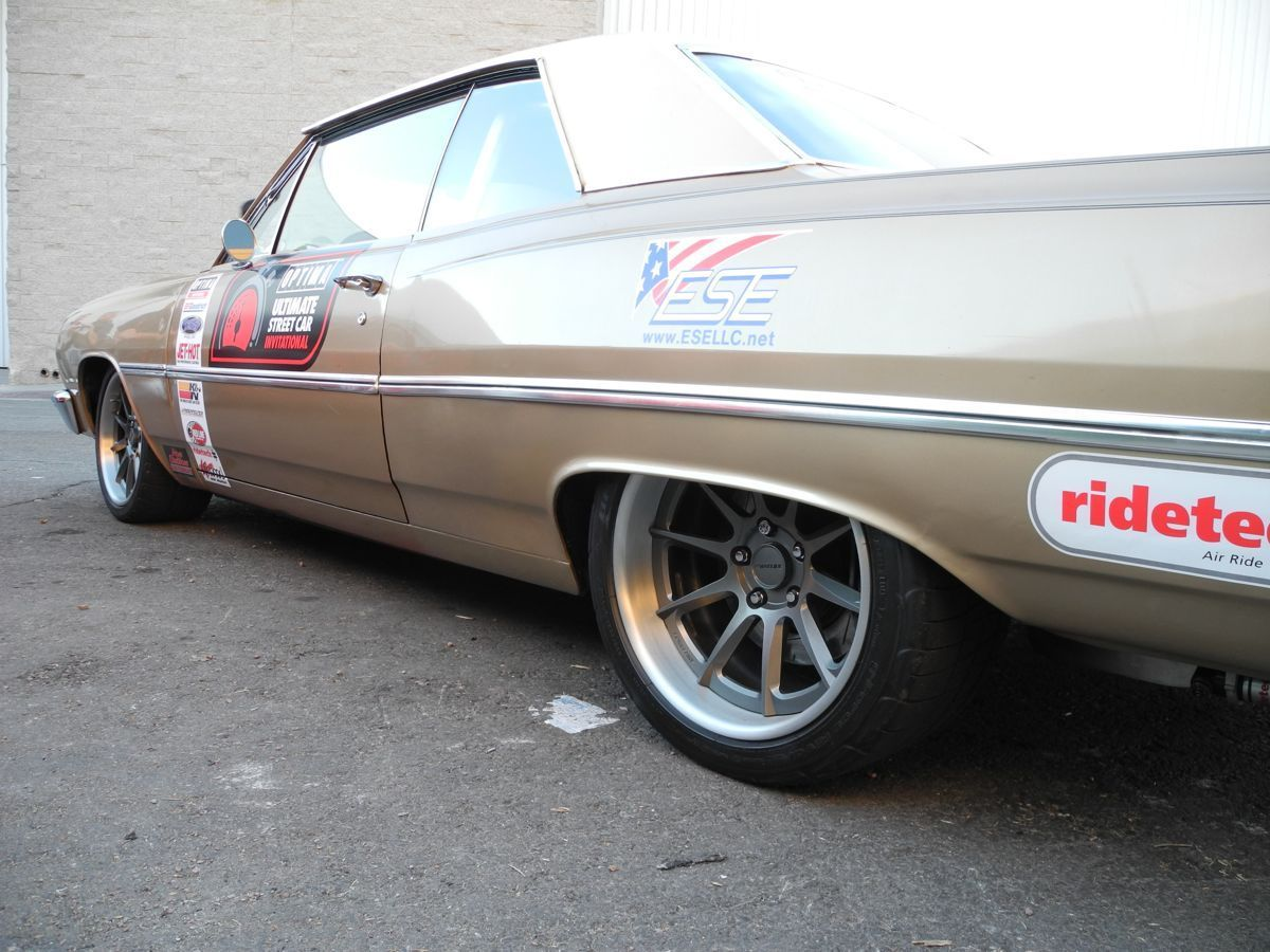 1965 Chevrolet Chevelle | Aaron Oberle's 1965 Chevelle on Forgeline RB3C Wheels at SEMA 2014