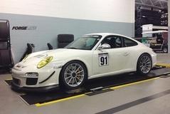 Joe Lombardo's Porsche 997.2 GT3 RS on Forgeline One Piece Forged Monoblock GT1 Wheels
