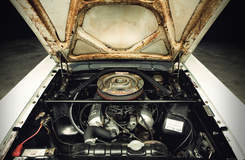 1965 GT350 Barn Find Engine