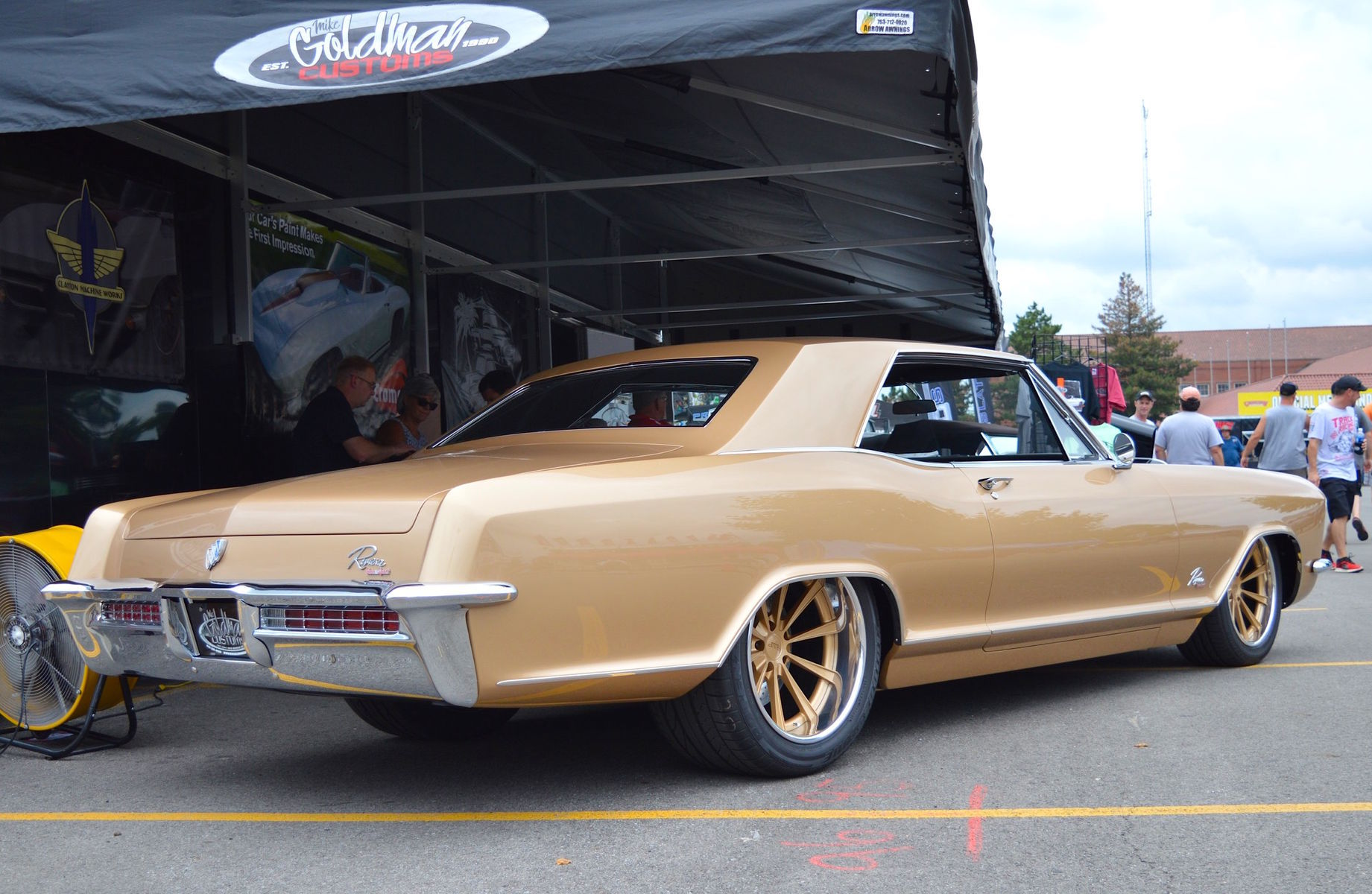 1965 Buick Riviera | 1965 Buick Riviera on Grip Equipped Dropkick Wheels Wins Builders Choice at 2016 Goodguys PPG Nationals