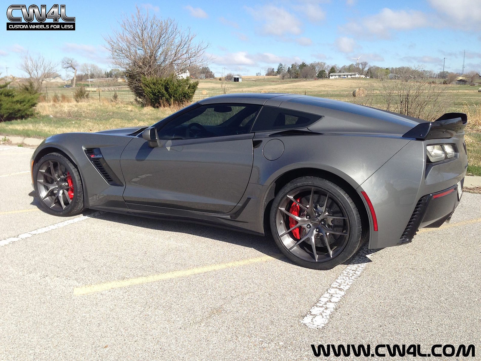 2015 Chevrolet Corvette Z06 | Chevrolet C7 Corvette Z06 on Forgeline One Piece Forged Monoblock VX1 Wheels
