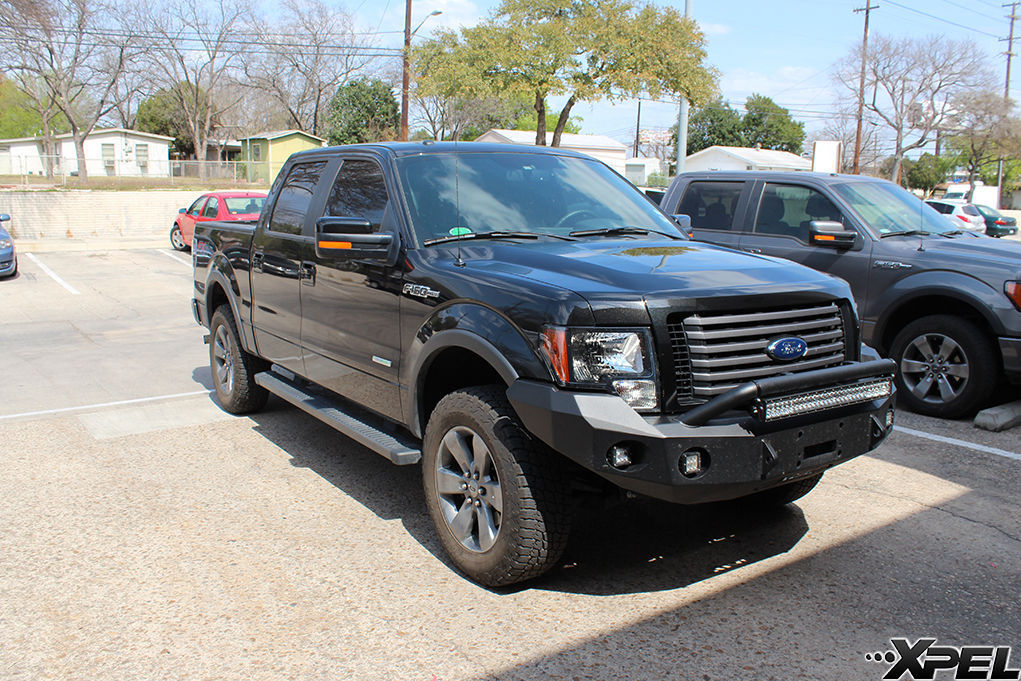 Ford F-150 | Ford with XPEL ULTIMATE self-healing clear bra
