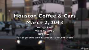 Cars and Coffee Houston