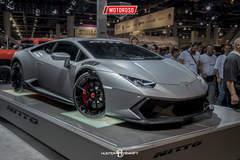 Lamborghini Huracan - SEMA 2016 Nitto Tires Booth