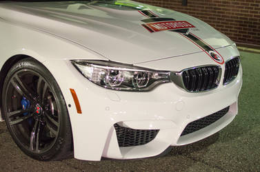2015 BMW M4 | The Wrapped M4 - Front Clip