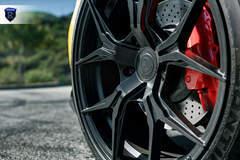 Yellow Porsche Boxster - Spokes