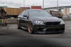 Black BMW F10 M5