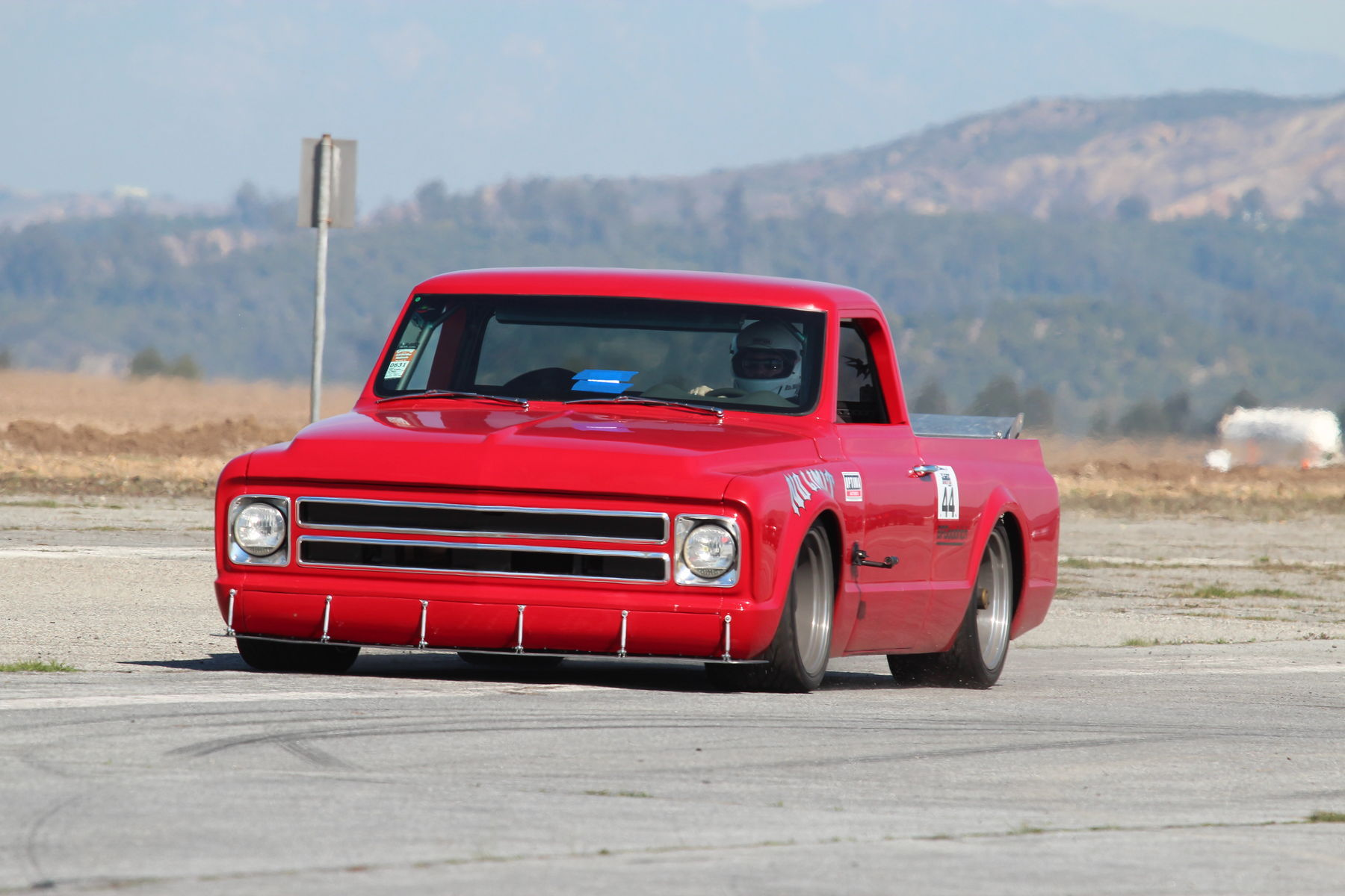 1970 Chevrolet C-10 | No Limits Engineering Chevy C10 'Hellboy' - Excelling On The Track