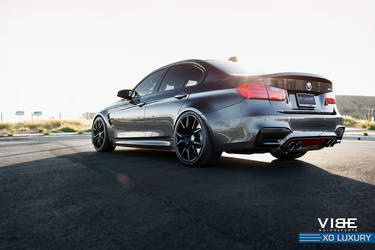 "2016 BMW M3 | BMW M3 on 20"" XO Luxury Wheels - Shining Sun"