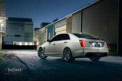 Marty Hatton's 757RWHP Cadillac CTS-V on Forgeline One Piece Forged Monoblock VX1 Wheels