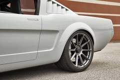 """Marc's Roadster Shop-Built """"Vapor"""" 1965 Ford Mustang on Center Locking Forgeline One Piece Forged Monoblock RB1 Wheels"""
