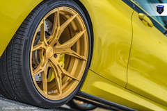 BMW M4 Pair - Gold Rohana Spokes