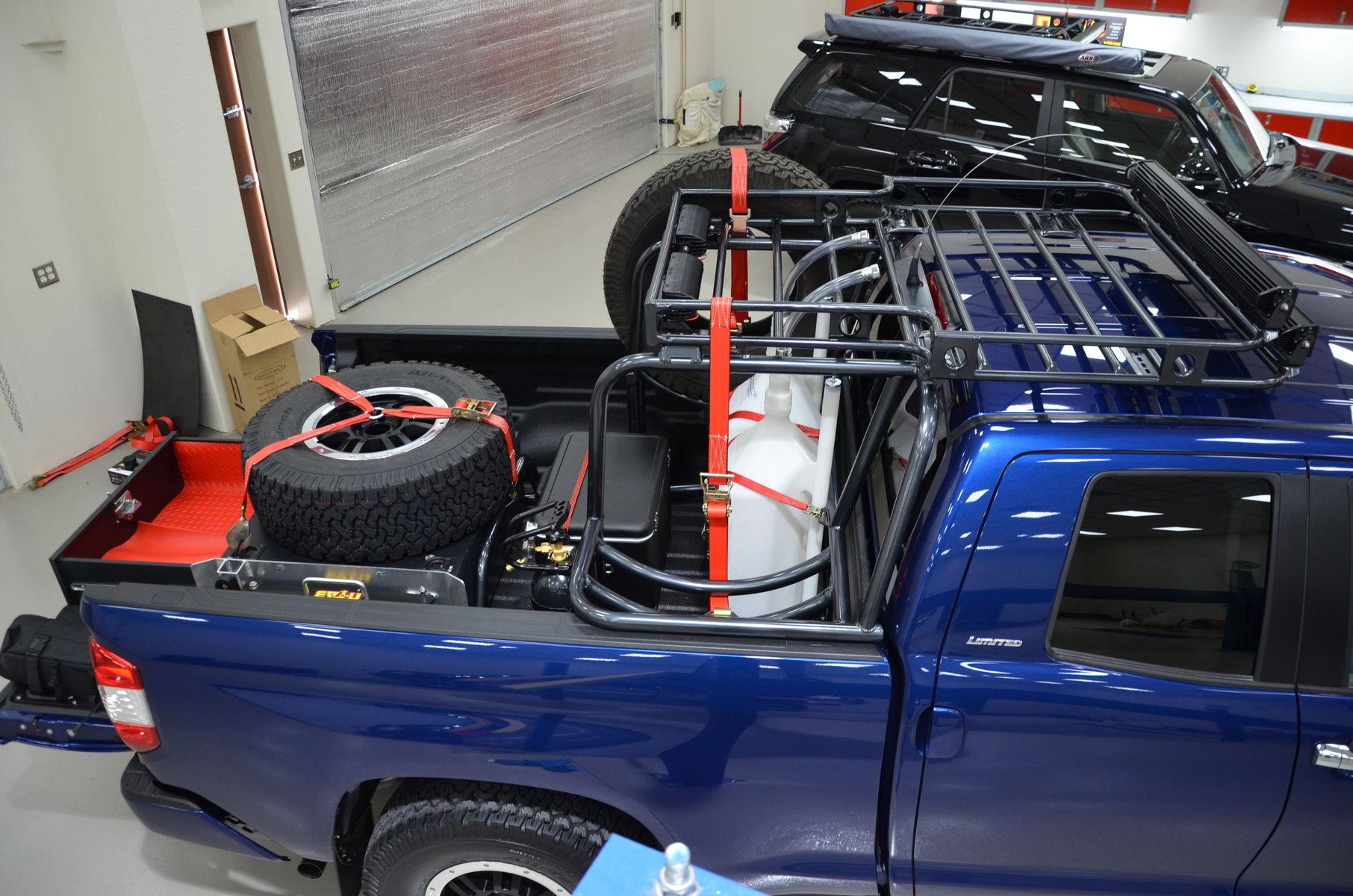 2014 Toyota Tundra | N-FAB TRD PRO Build - Toyota Tundra Cargo Shot