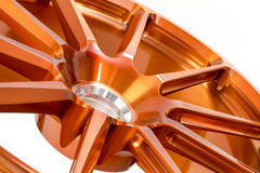 Forgeline One Piece Forged Monoblock RB1 Centerlock in Transparent Copper