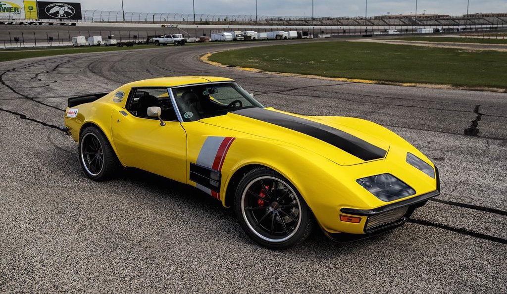 1972 Chevrolet Corvette Stingray   RideTech's Amazing 48 Hour Corvette Project