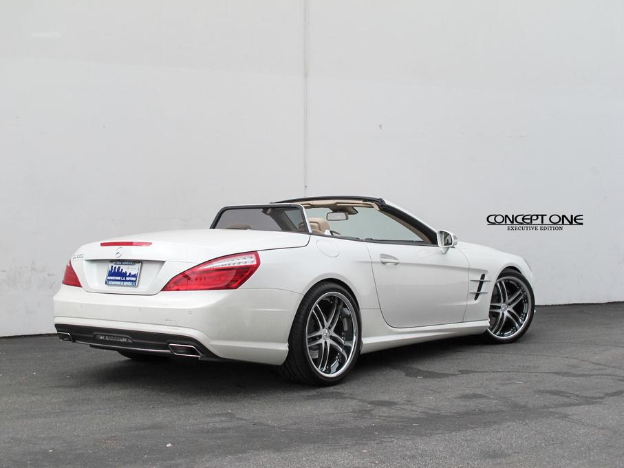 2014 Mercedes-Benz CL-Class | 2014 Mercedes-Benz E-Class Convertible on Concept One RS55's