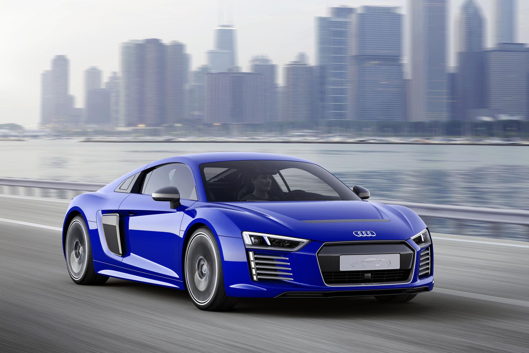 Audi  | Audi R8 E-Tron Piloted Driving Concept