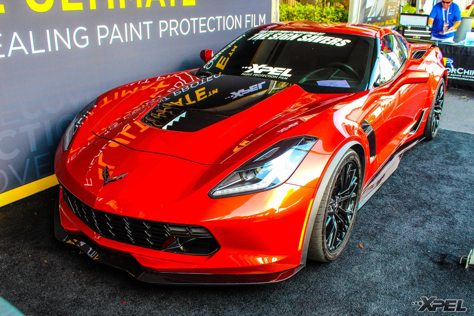 Chevrolet Corvette Z06 | XPEL Booth at Barrett Jackson West Palm Beach 2015